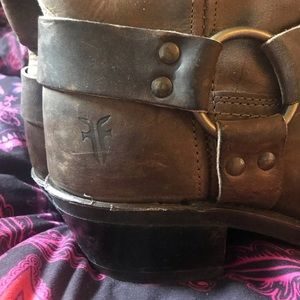 Authentic Frye Moto boots